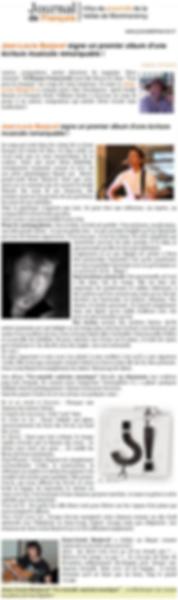 JL signe un 1er album d'une écriture musicale remarquable