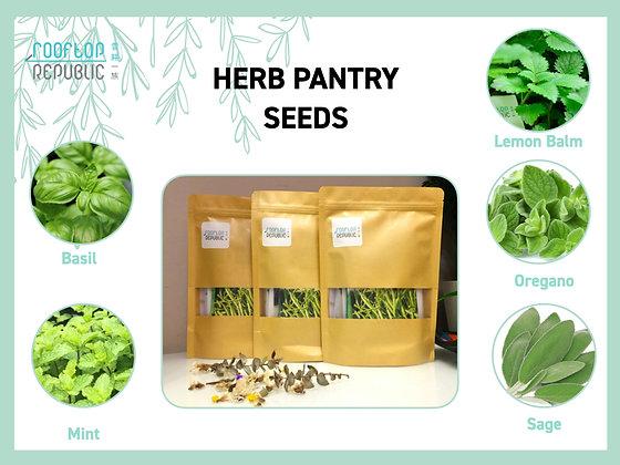 Herb Pantry Box - Organic Seeds Variety Pack|香草包-雜錦有機種子