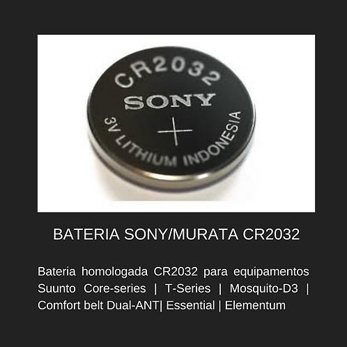 BATERIA HOMOLOGADA CR2032 - SÓ BATERIA