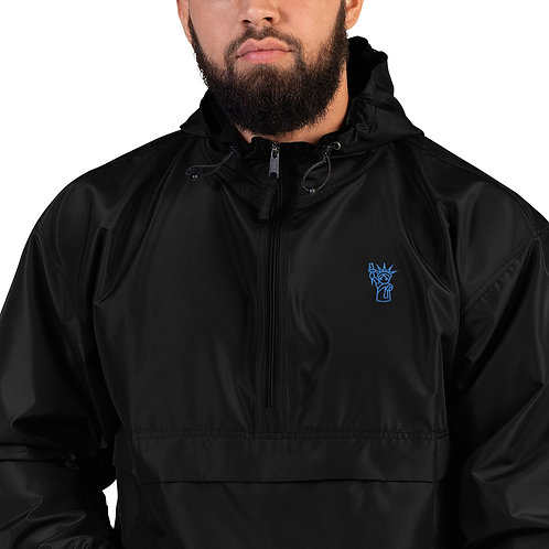 New Yorker Embroidered Champion Packable Jacket
