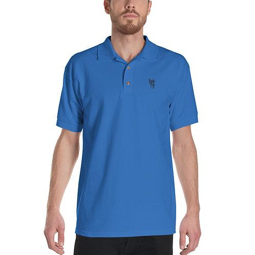 NYC Embroidered Polo Shirt