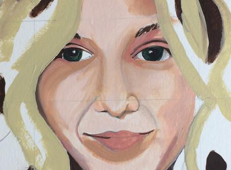 DAY 10,11 & 12 Self Portrait Challenge