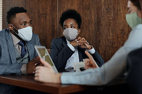 business-people-wearing-face-masks-and-t