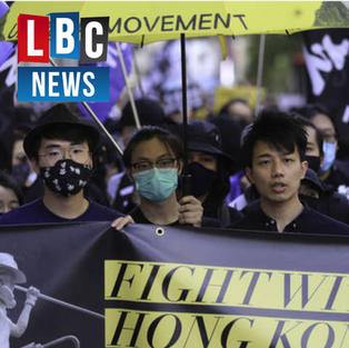 LBC | MPs join Hong Kong protest in London as region comes under tighter Beijing control