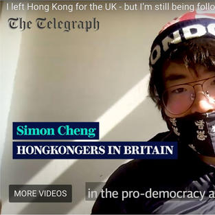 The Telegraph | I left Hong Kong for the UK - but I'm still being followed