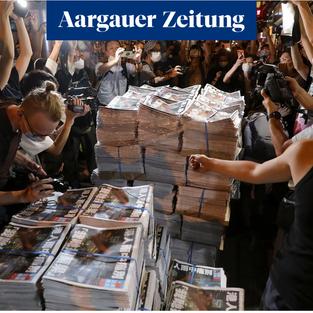 Aargauer Zeitung    Das Schweigen von Hongkong