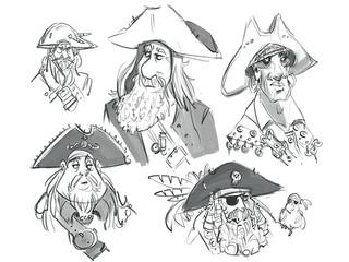Pirate Heads