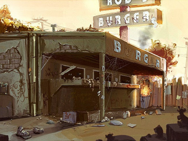 Zombie Burger Joint