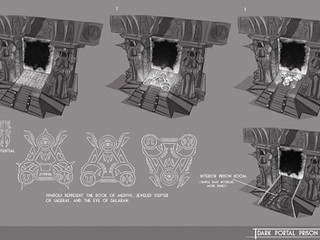Dark Portal Prison Concept