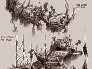 Roc Exploration Concepts (World of Warcraft)