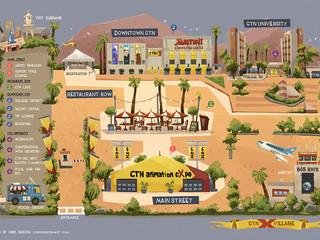 CTNX Village Map