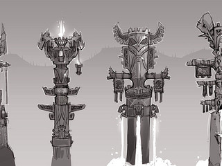 High Mountain Totems