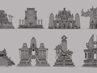 Ancient Architecture Designs