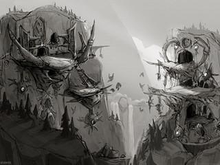 Harpy Village Concept