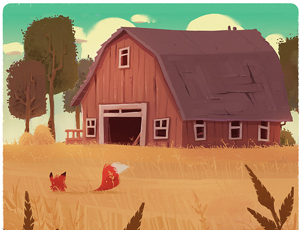 Fox and the Barn