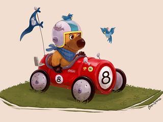 Ollie's Race Car