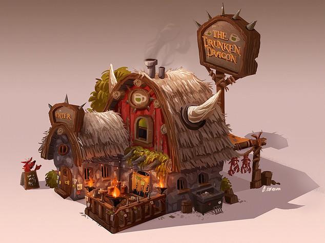 Drunken Dragon Tavern