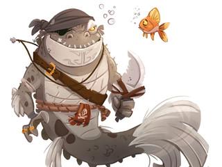 Pirate MerCreature