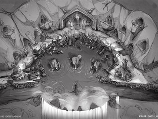 Kvaldir Caves Layout Concept