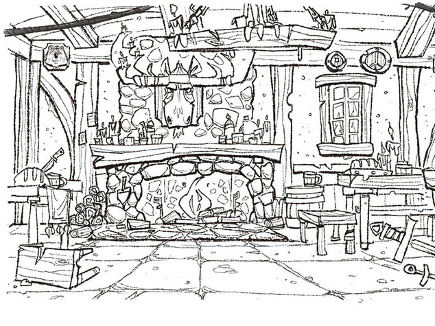 Tavern Layout