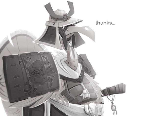 Thanksgiving Turkey Samurai