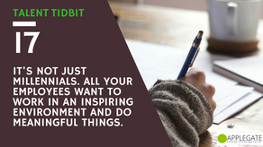 TALENT TIDBIT | bite-size lessons to help us improve ourselves and our relationships with our employ
