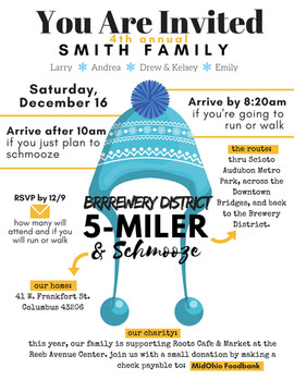 INVITATION | Annual Brrrrewery District 5-Miler
