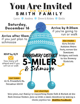 INVITATION   Annual Brrrrewery District 5-Miler