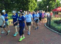 GVWC walkers in Schiller Park