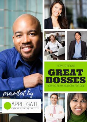 "WORKBOOK | ""Great Bosses"" Training"