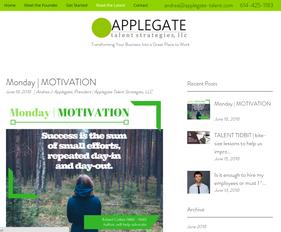 BLOG   Read the Latest at Applegate Talent Strategies