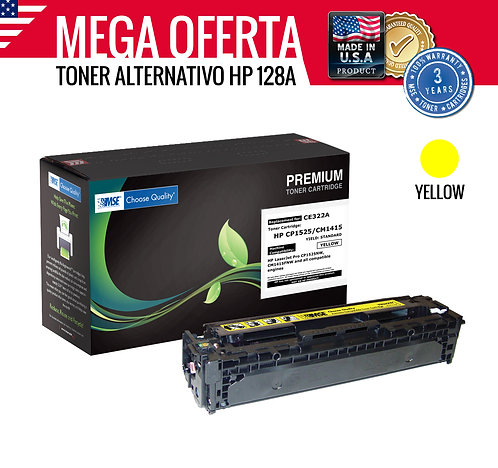 TONER HP COLOR LASERJET 128A CE322A - AMARILLO