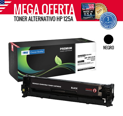 TONER HP COLOR LASERJET 125A CB540A - NEGRO