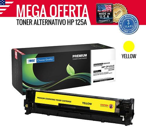 TONER HP COLOR LASERJET 125A CB542A - AMARILLO