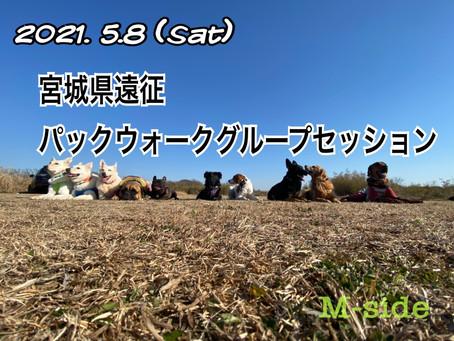 5/8 宮城県遠征パックウォークグループセッション