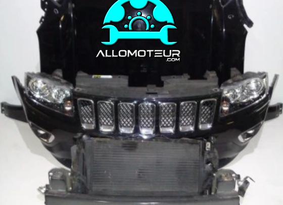 Face avant complète Jeep Compass II Phase 1 : 2016 - 2021