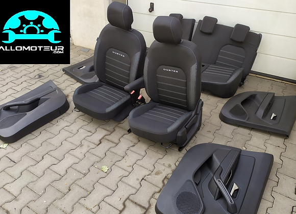 Intérieur complet Dacia Duster 2018