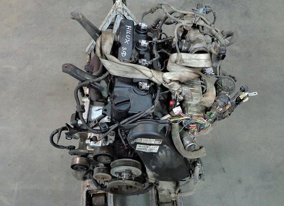 Bloc moteur TOYOTA CRUISER 120 HILUX VII 3.0 D