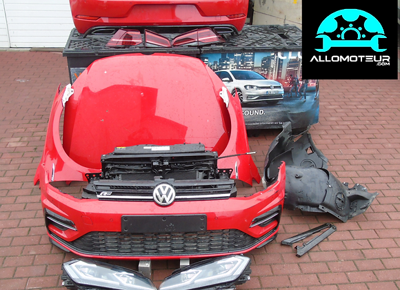Lot - Face avant + Tableau de bord VW Golf 7 R 2017