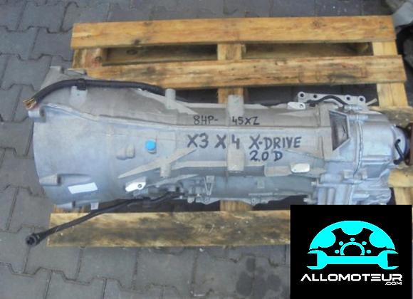 Boite automatique BMW X3 / X4 2.0D X-Drive 8HP-45XZ