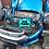 Face avant complète Honda Insight II