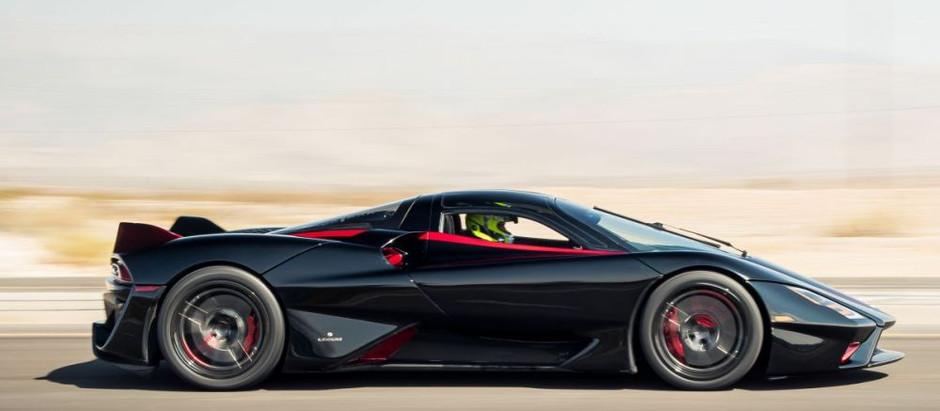 Pour la première fois, une voiture dépasse les 500 km/h