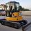Thumbnail: Mini pelle hydraulique CATERPILLAR CAT 305E2 CR