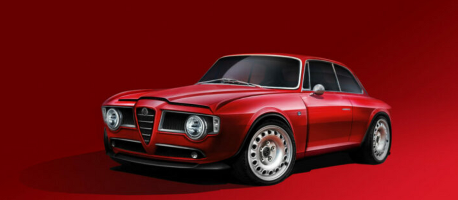 RESTOMOD EMILIA GT VELOCE : V6 D'ALFA QV ET 400 000 € MINIMUM