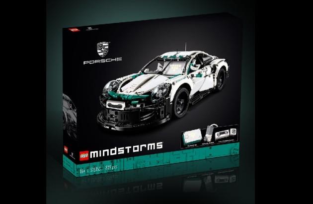 Lego développe un modèle réduit de Porsche... qui sera autonome