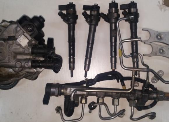 Lot de 4 injecteurs AUDI A3 / Q3 2.0 TDI CFF