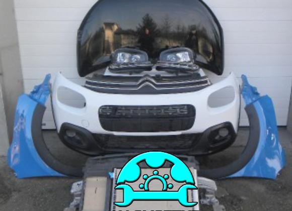 Face avant complète Citroën C3 III