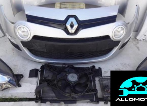Face avant complète Renault Twingo III 2019
