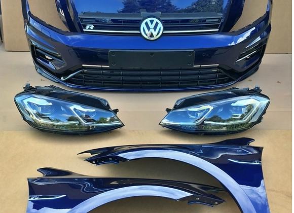 Face avant complète VW Golf VII R Facelift (5G) 2.0 TSI