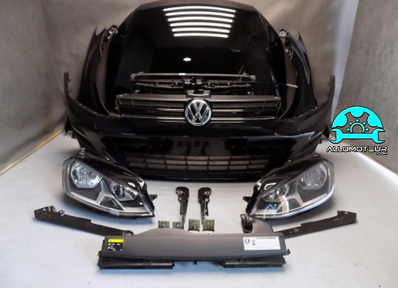 Face avant complète Volkswagen GOLF VII 1.6 MPI